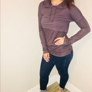 ⭐️Fabletics NWOT lightweight hoodie- limited color